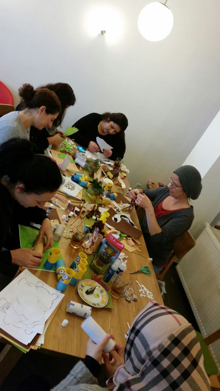 Elterncafe Kifa-Kurs an der Waldeckschule