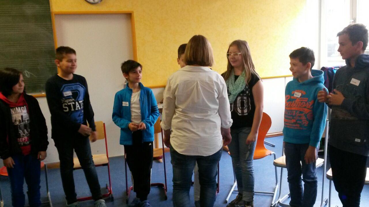 Selbstbehauptungskurs an der Waldeckschule